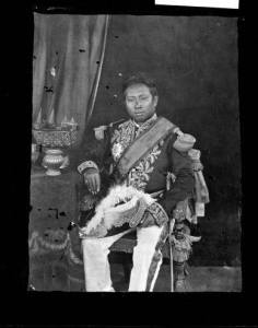Indochina King Norodom 1865