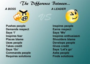 boss vs leader 5