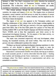 """From """"Socioeconomic Renovation in Vietnam: The Origin, Evolution, and Impact of Doi Moi"""" by Peter Boothroyd and Pham Xuan Nam"""