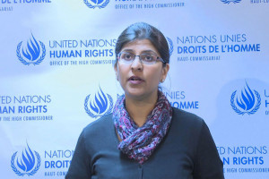Ravina Shamsadani, Spokesperson for the Office of the UN High Commissioner for Human Rights. Photo: UN Multimedia
