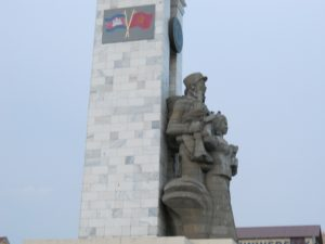 """Cambodia-Vietnam War Monument"" is standing majestically in centre of Phnom Penh. Courtesy: horchange.blogspot"