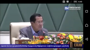 Hun Sen speech