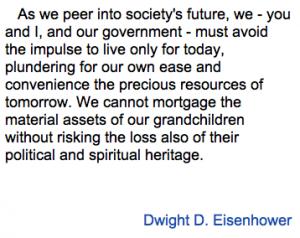 Eisenhower word