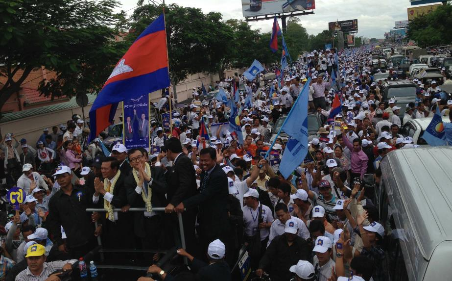 Sam Rainsy Return 1