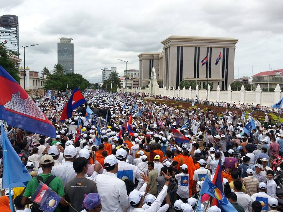 Sam Rainsy Return
