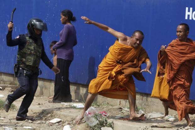 Cracking Hitting Monks