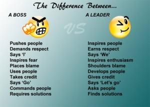 boss vs leader 5