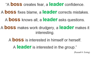 boss vs leader 9