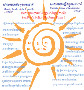 Sun Ray Policy Platform drawn by Sophoan Seng