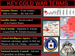 Domino Theory and Key cold war terms